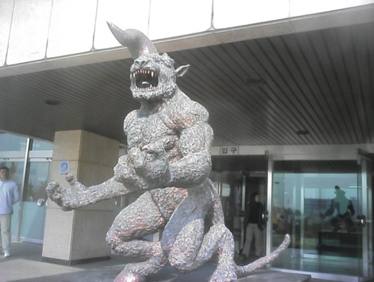 zodd the immortal berserk giant statue