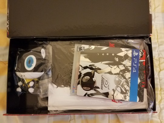 Collectors box filled with the goodies