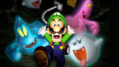 skinny green mario luigis mansion