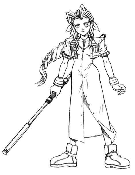 ff7-aerith-early-concept-sketch