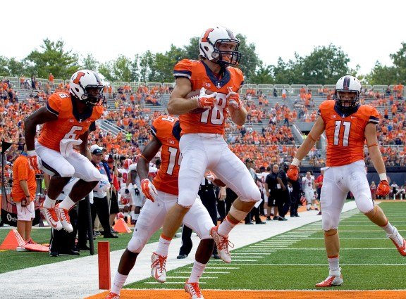 Image result for uiuc football