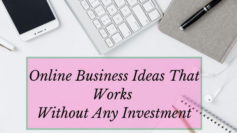 Online Business Without Investment