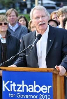 Acceptance speech for Oregon's new Governor, John Kitzhaber