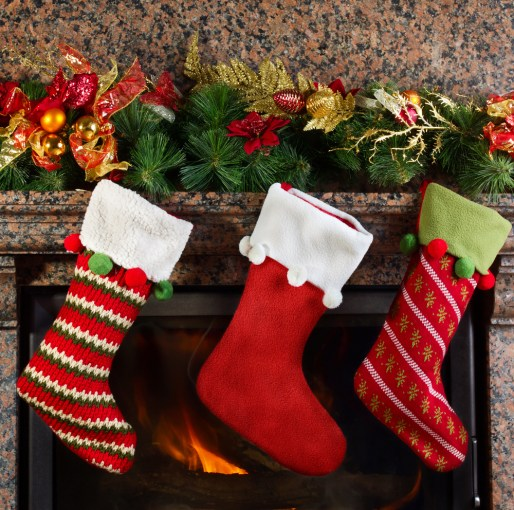 Image of Christmas Stockings - stock tips make bad holiday gifts