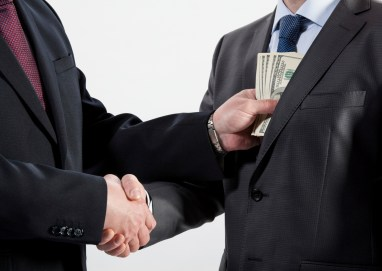 Bribery usually punishes both sides of the corrupt transaction