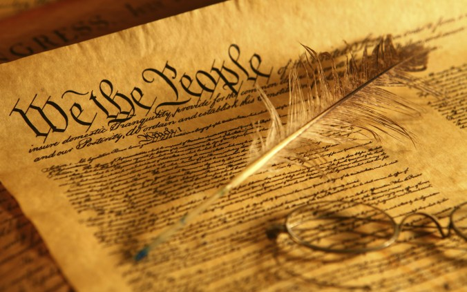 Picture of the U.S. Constitution