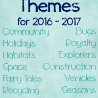 2016 - 2017 Preschool Weekly Themes