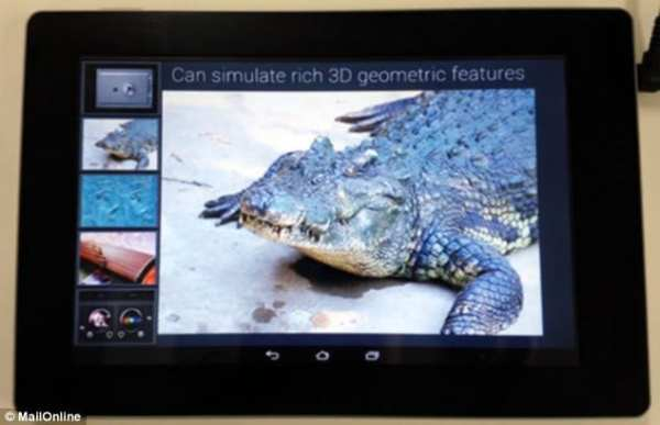 Fujitsu Touch Screen Feels like toughing water