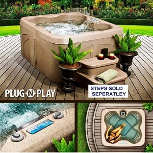 Above Ground Hot Tub Review