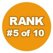 Ranking 5 of 10