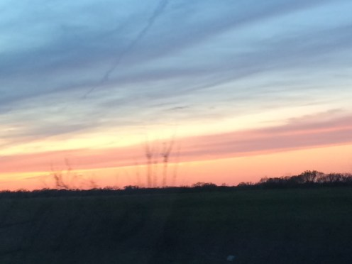 Sunset over Western MO.