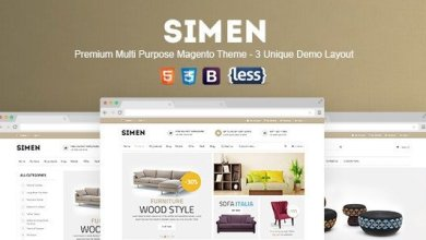 Photo of SNS Simen v1.0.1 – Responsive Magento Theme