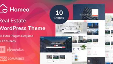Photo of Free Download Homeo – Real Estate WordPress Theme (Nulled) [Latest Version]