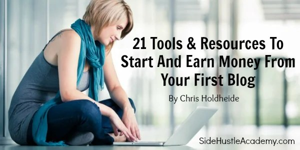 21 tools to start your first blog
