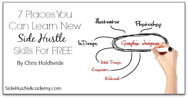 7 Places You Can Learn New Side Hustle Skills For FREE