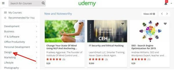 Udemy Search