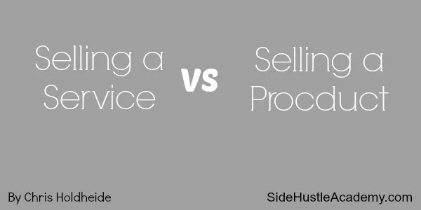 Selling A Service Vs Selling A Product - Which Is Better