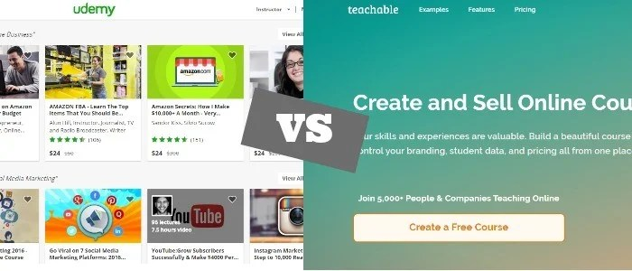Udemy vs Teachable – Which Platform is the Best [Updated for 2017]