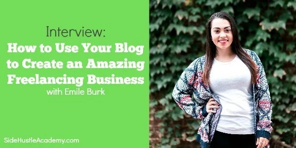 Interview: How to Create an Amazing Freelancing Business with Your Blog with Emile Burk