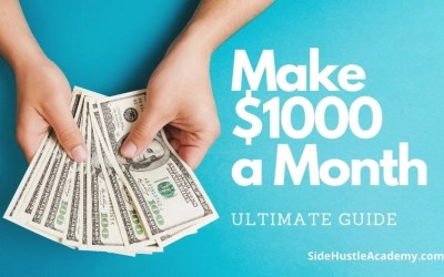 How Can I Make an Extra $1000 Dollars a Month?
