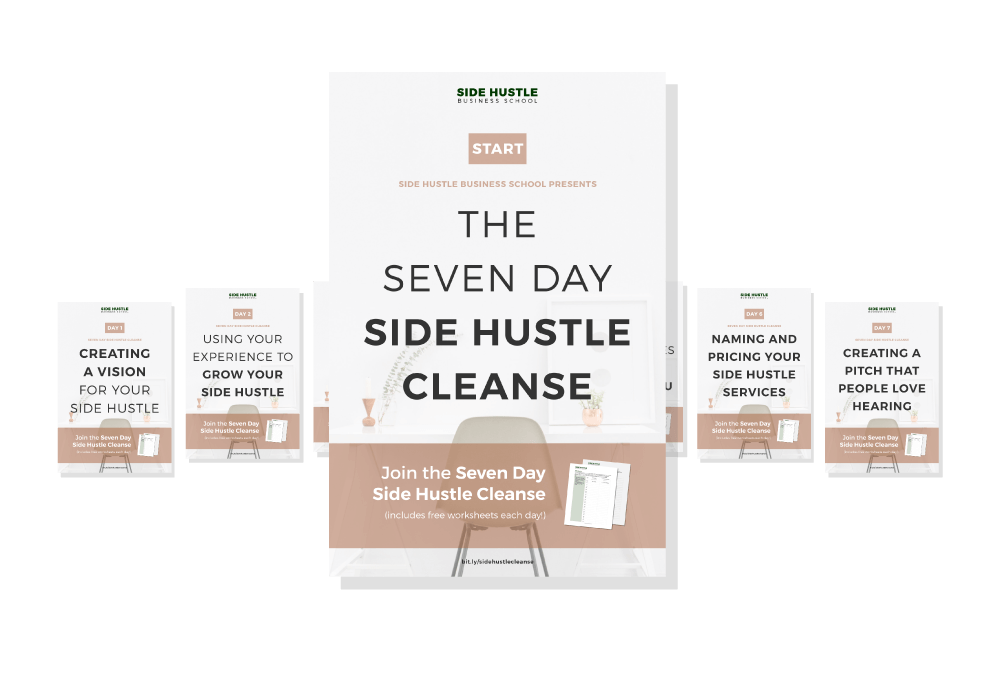 Side Hustle Cleanse Cover