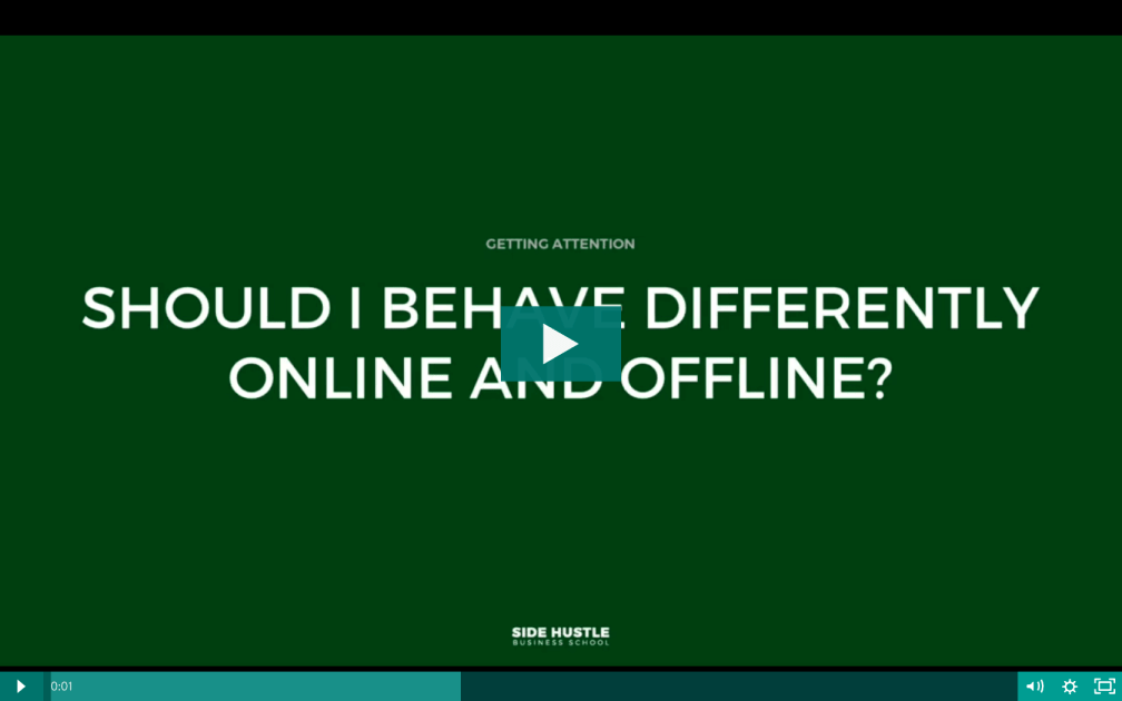 Should I speak differently online and offline - Side Hustle Business School