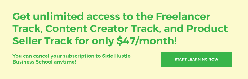 Start Side Hustle Business School now for $47