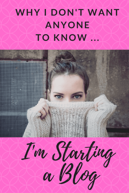Starting a Blog - Why I choose to blog anonymously