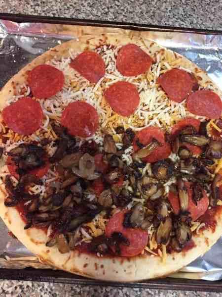 easy homemade pizza