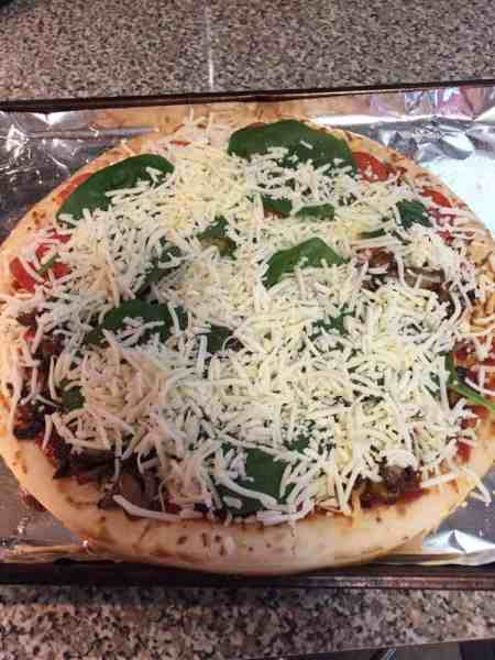 easy homemade pizza