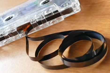 cassette tape - blogging anonymously