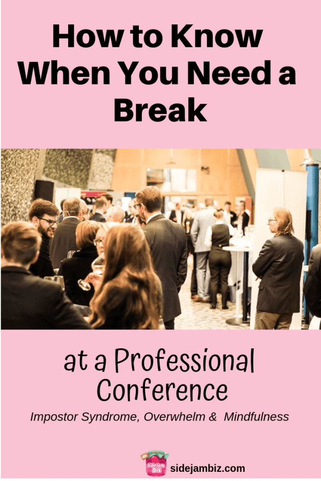 Attending a Professional Conference can be stressful. How to navigate networking functions without draining energy and soul. #entrepreneur #professional #networking #selfcare #stressfree