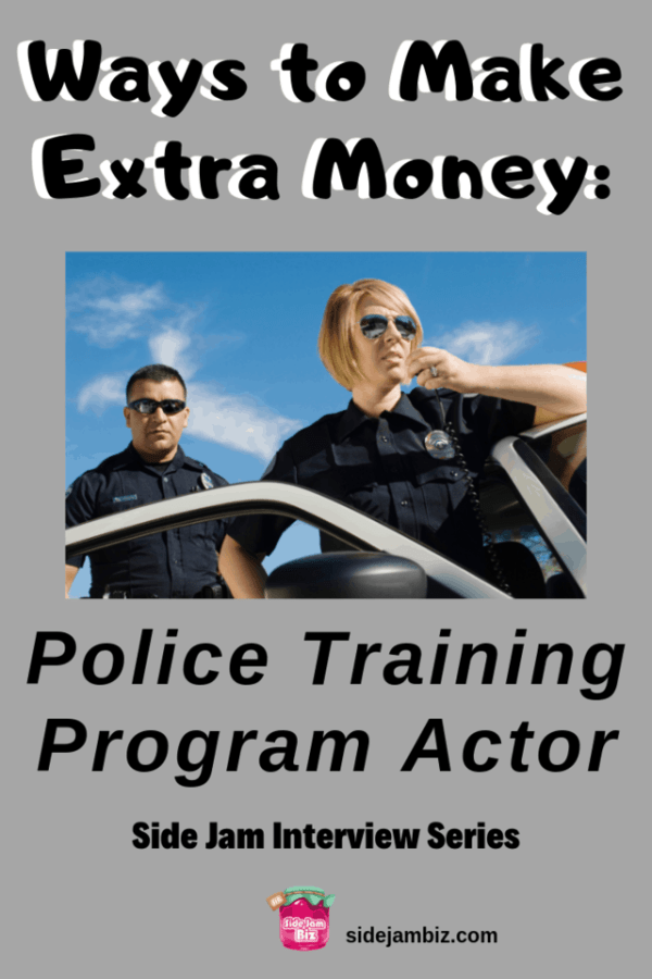 Make Money as a Police Training Program Actor