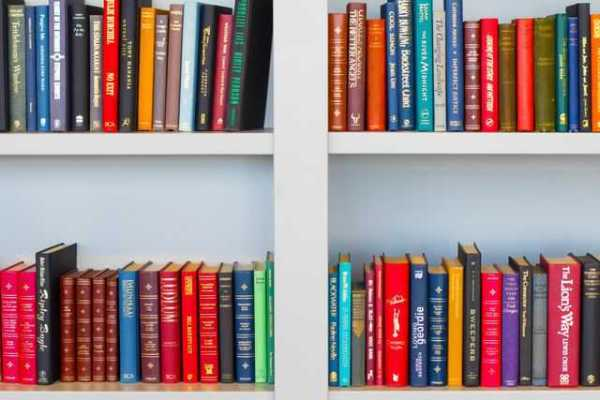 Bookshelf full of books - self-publishing a book to make extra money