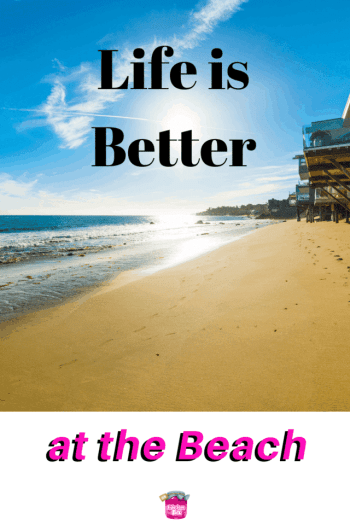 Life is Better at the Beach #beach #vacation #money #moneytalk #savemoney #personalfinance #moneymindset