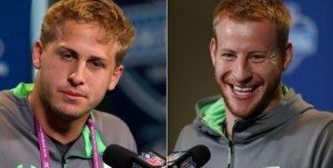 Carson Wentz vs. Jared Goff – QB Prospects