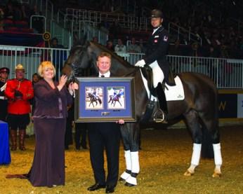 Deb Kinzinger - Dressage owner of Year Award