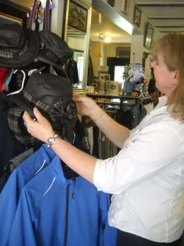 Customers shopping at Barbara's Horse Leap are in search of authentic riding gear.