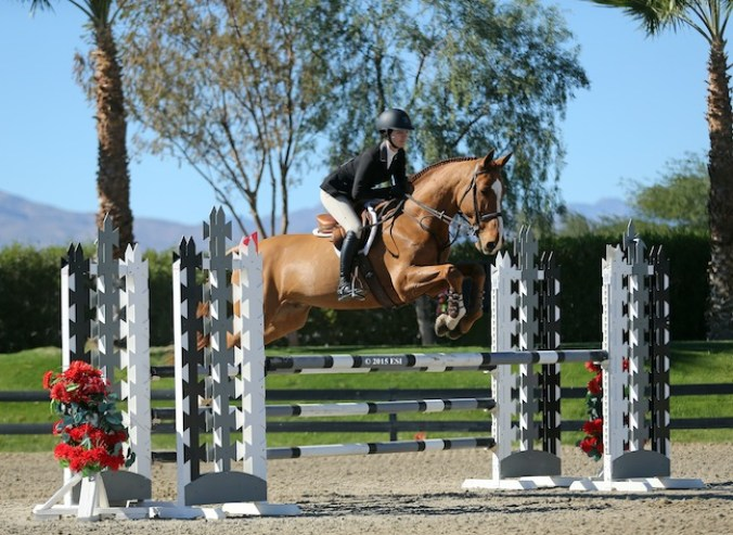 Alex and Beau compete in the big eq classes. (Photo by Glen Burgess/ESI Photography)