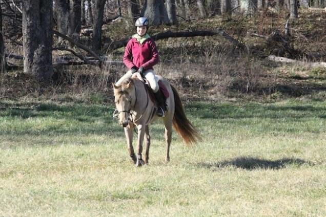 Faith and Emily are once again enjoying riding. (Photo courtesy of Emily Lunsford)