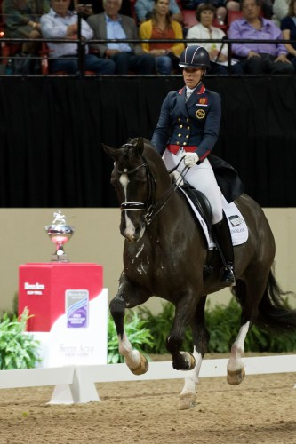 Charlotte and Blueberry made history in Las Vegas at the 2015 World Cup.