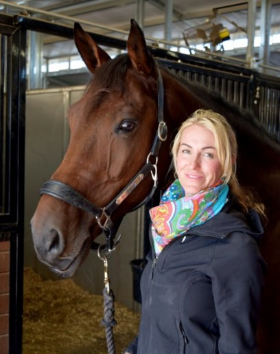 Stephanie and Clever at Tyron International Equestrian Center Photo by Jan Westmark