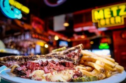 The Reuben was invented in Omaha — so make sure to enjoy one during your visit.