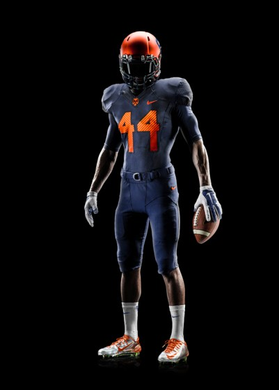 Syracuse Football Uniform