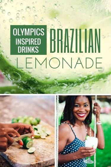 Olympics Inspired Drinks Brazilian Lemonade