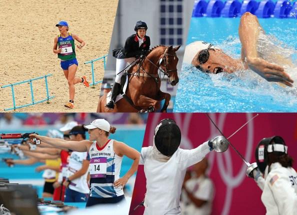 Sideline Socialite Olympics Modern Pentathlon