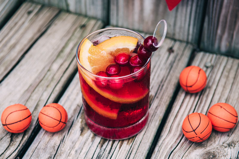 NBA Finals Cocktail: The Sangrialier Easy Cranberry Sangria