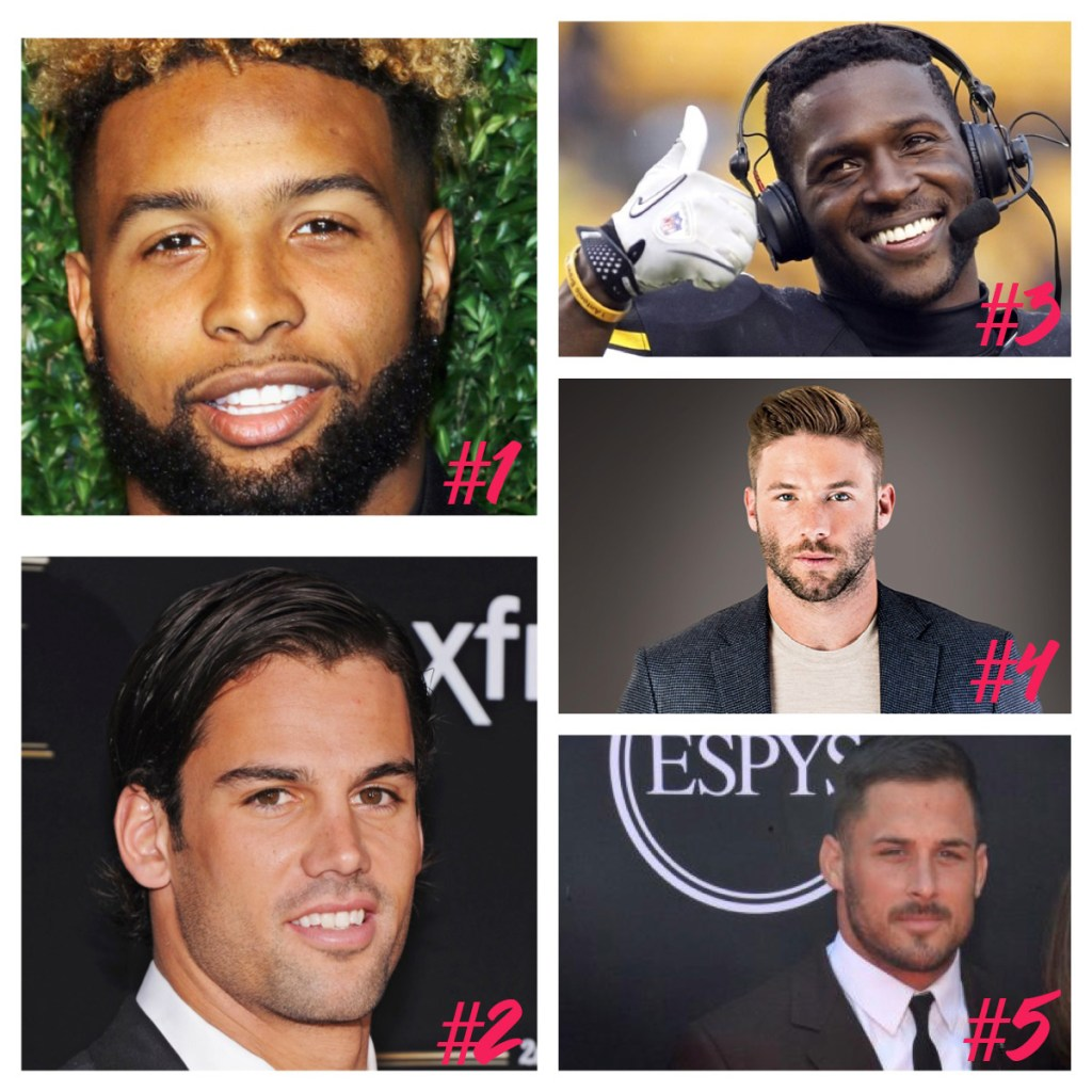 Fantasy Football: Pick The Hottest Wide Receiver NFL Fantasy Football Sideline Socialite