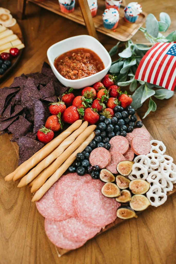 Red, White, & Blue Charcuterie Just In Time For Memorial Day, charcuterie board ideas