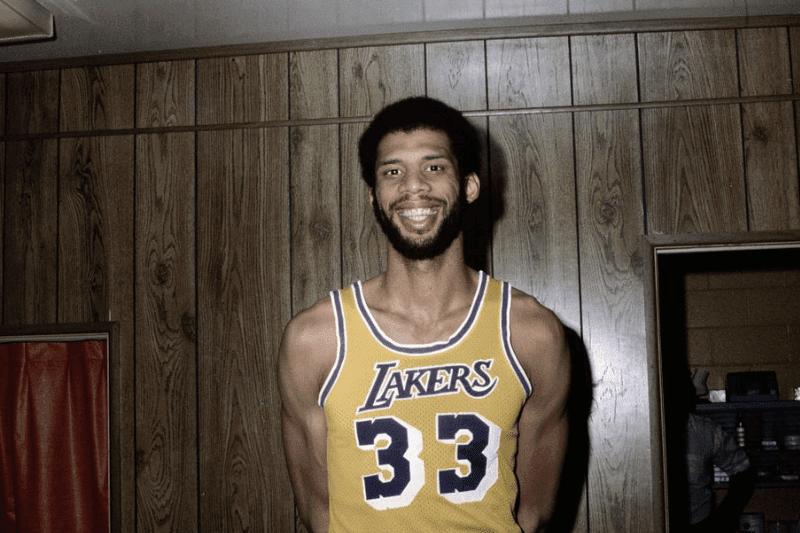Photo of Kareem Abdul-Jabbar, Los Angeles Lakers center